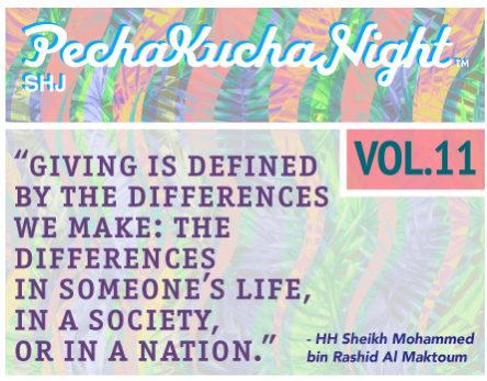PechaKucha Night SHJ Vol. 11